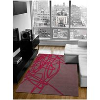 ESPRIT - Tapis BRAINSTORM marron Tapis Moderne 140 x 200 cm marron 140 x 200 cm