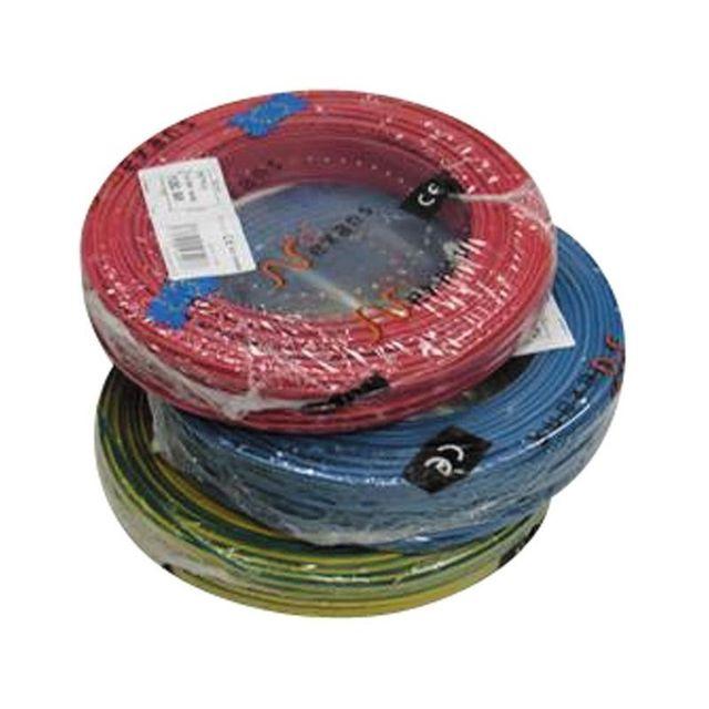 Nexans fil l ctrique 2 5 mm2 1 bobine 100 m h07vu pas cher achat vente fils et c bles - Bobine fil electrique ...
