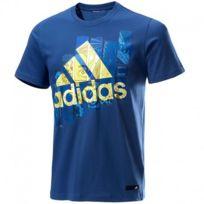 Adidas originals - Tee-shirt Super Smash Bleu Homme Adidas