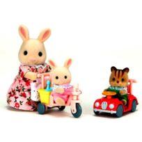 Sylvanian Families - 3567 Tricycle+mini voiture bébé