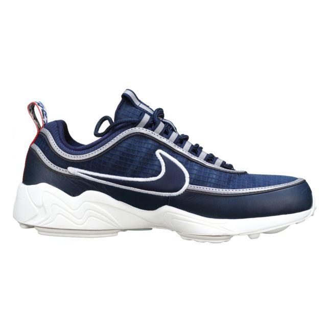 Nike Air Zoom Spiridon Se Aq4127 400 Marine pas cher