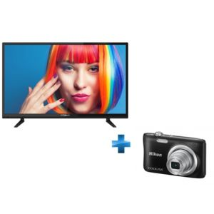 polaroid tv led 32 pouces appareil photo compact nikon. Black Bedroom Furniture Sets. Home Design Ideas