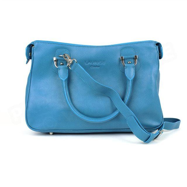 be05f9403b Volumica - Sac Cabas Monaco Cuir Bleu turquoise Beaubourg - pas cher Achat  / Vente Cabas, paniers - RueDuCommerce