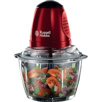 Russell Hobbs - mini hachoir 500ml 350w rouge - 20320-56