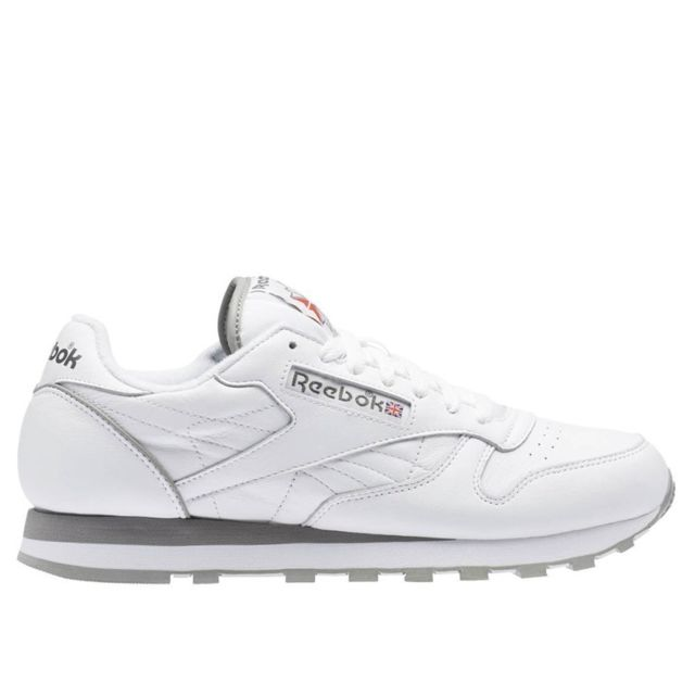 info for 15d08 5f069 Reebok - Classic Leather Archive Blanc - pas cher Achat   Vente Baskets  homme - RueDuCommerce
