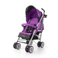Milly Mally - Poussette canne compacte enfant bébé 6m+ avec équipement Meteor | Violette
