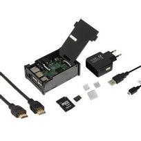 Raspberry - Set de démarrage Pi 3 Modèle B 1 Go Linux Noobs avec système d'exploitation