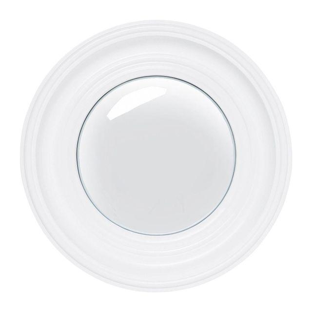 Karedesign Miroir Convex blanc 39cm Kare Design