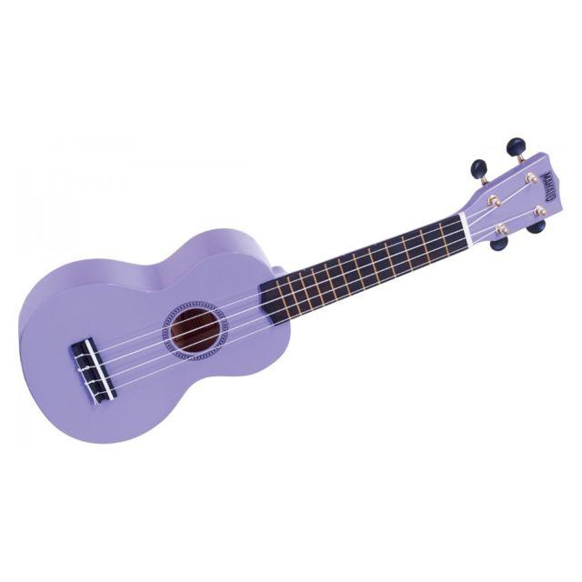Mahalo - Rainbow Mr1-PP - Ukulele Soprano violet brillant + housse