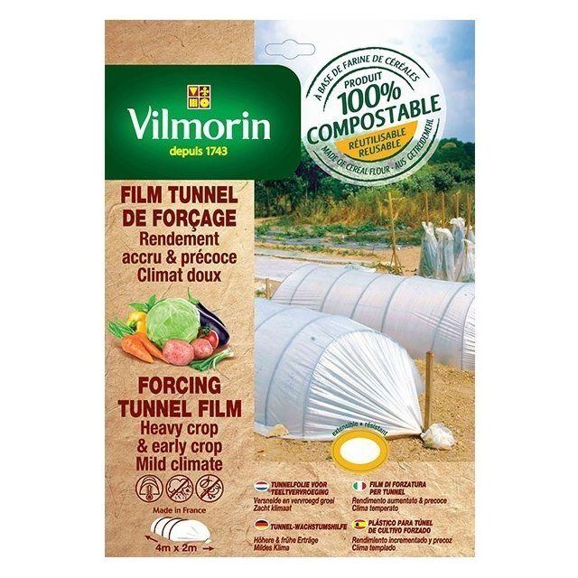 Vilmorin Film tunnel de forçage - farine de céréales - 2m x 8m 20µm