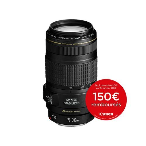 CANON Objectif EF 70-300 mm f/4-5,6 IS USM