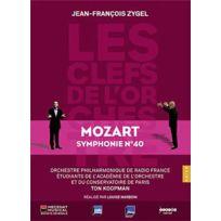 """- Jean-François Zygel   Wolfgang Amadeus Mozart - Les clefs de l'orchestre : Symphonie no. 40 """"Jupiter"""" Boitier cristal"""