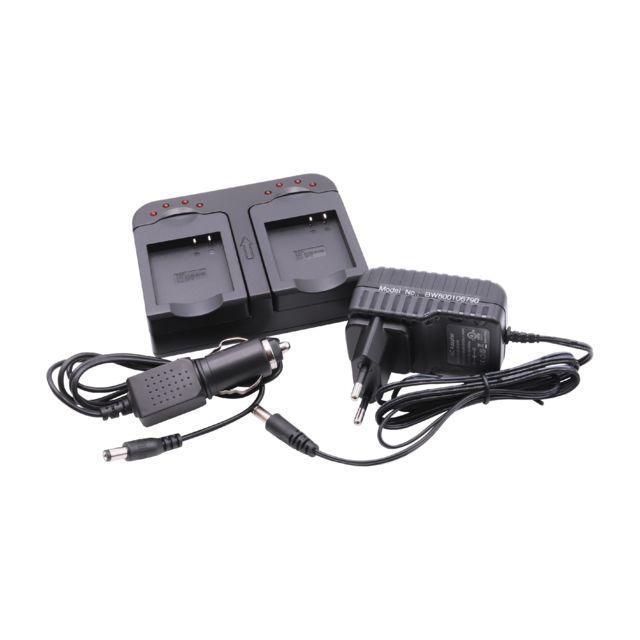 Chargeur rapide Chargeur socle de chargement double avec batterie pour voiture incluse Ia bh125C comme Samsung Hmx r10