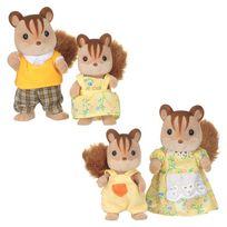 Sylvanian - Famille ecureuil roux sf