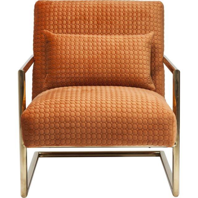Karedesign Fauteuil Living Vegas orange Kare Design