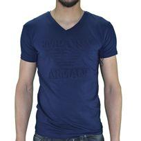 Armani - Emporio - Tshirt Manches Courtes - Homme - Ea 01 - Navy