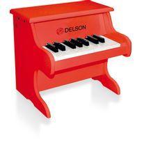 DELSON - Piano bébé rouge - 1822R