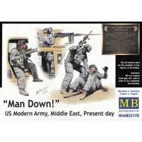Master Box - Masterbox 1:35 - Man Down! Us Modern Army, Middle East, Present Day
