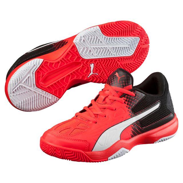 Chaussures 5 5 Puma Junior Evospeed Fluoblancnoir Rouge Indoor 7Fn8Hq