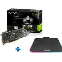 KFA2 - GeForce GTX 1070 EXOC SNIPER 8 Go DDR5 + Tapis de Souris Gaming Sniper RGB offert
