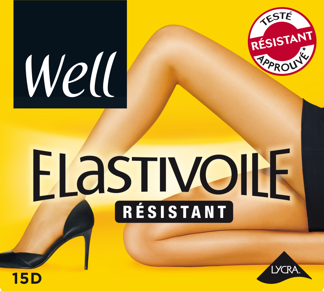 WELL - Collant Elastivoile résistant ae63b8a5227