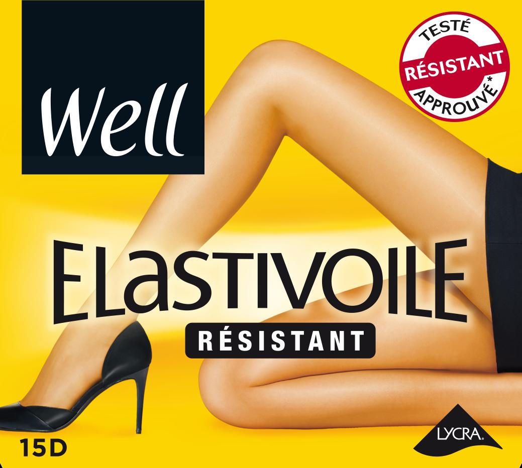 WELL - Collant Elastivoile résistant 1aa5d4b444f