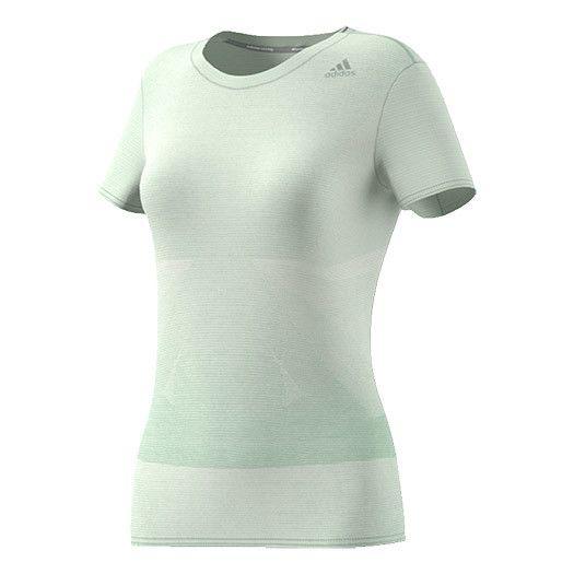 b047133ebfef3 Adidas - T-shirt Supernova manches courtes vert clair femme Multicolour -  XS - pas cher Achat / Vente Maillots, débardeurs - RueDuCommerce