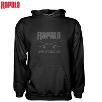 Rapala - Sweat Hoody Noir Rippin' Lips