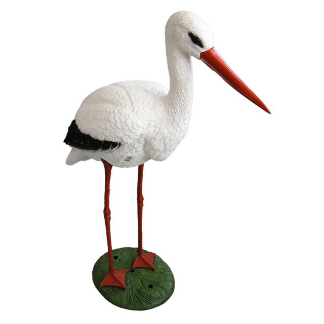 Rocambolesk Superbe Figure animale cigogne Ubbink 1382501 neuf