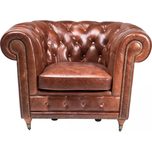 Karedesign Fauteuil Club Oxford Vintage Deluxe Kare Design