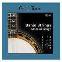 Goldtone - Cordes Banjo 5 cordes - Medium - Gold Tone Bsm