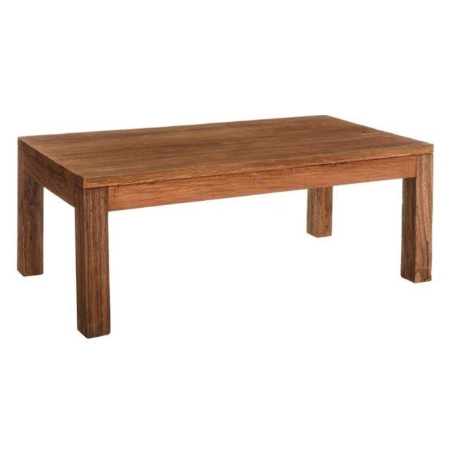 Tousmesmeubles Table basse 140 cm - Loro