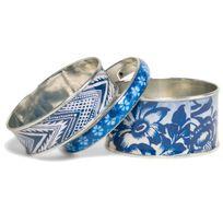 Desigual Bijoux - Bracelet Turner 74G9EA7-5000 - Bracelet Trio Bleu Motifs Femme