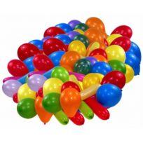 Riethmüller - RiethmÜLLER Lot De 100 Ballons De Baudruche Couleurs Assorties