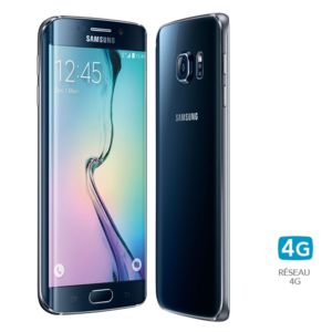 Samsung - Galaxy S6 edge Noir - 32 Go