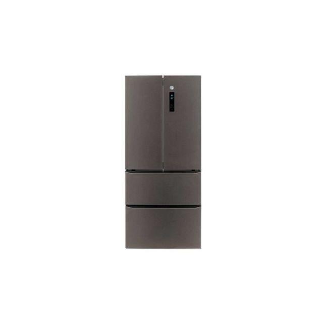 Hoover Hmdn184den - Refrigerateur Multi-portes - Froid Ventile No Frost - A++ - Inox