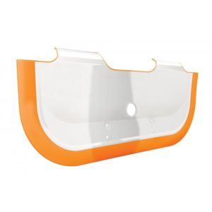 babydam r ducteur de baignoire b b orange orange blanc. Black Bedroom Furniture Sets. Home Design Ideas