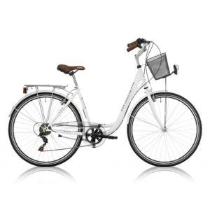"Descheemaker - Vélo Dame Central Park 28"" 6 Vit. Blanc 2017"