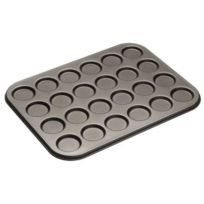 Master Class - Plaque whoopies / macarons Anti-adhésif 24 moules 35 cm x 27 cm Import Grande Bretagne