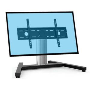 kimex support sur pied pour cran tv 37 39 39 70 39 39 hauteur 60cm pas cher achat vente support. Black Bedroom Furniture Sets. Home Design Ideas