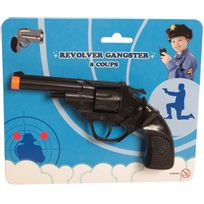 MARQUE GENERIQUE - Blister Revolver Gangster 8 Coups - 302206