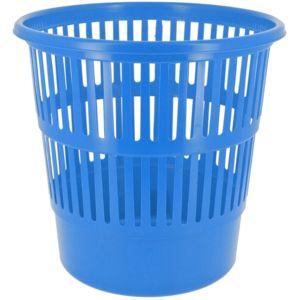 Promobo corbeille de bureau poubelle a stries bleu design city pas cher achat vente - Poubelle automatique l pas cher ...