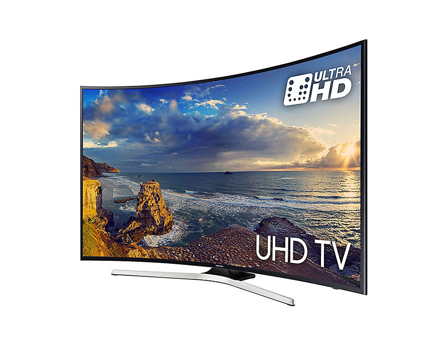 TV Led 55'' 4K Smart Tv Incurvée