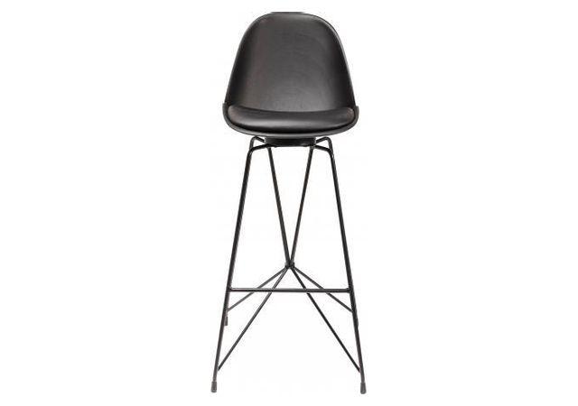 Declikdeco Chaise De Bar Kare Design Noire Fiesta Pas Cher Achat
