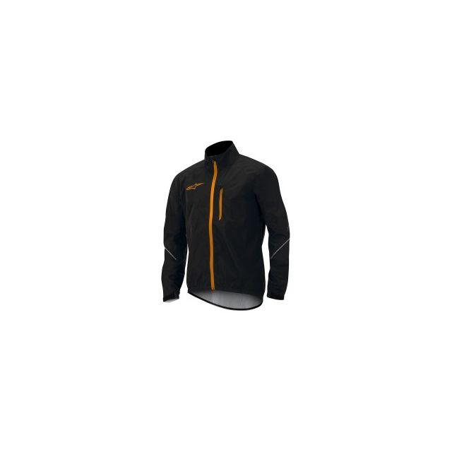 Windproof Orange Spicy Descender Alpinestars Black Jacket Veste pxqEn7wYg