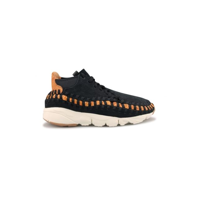 huge selection of bef36 b8c7e Nike - Basket Air Footscape Woven Chukka Noir 446337-002 - pas cher Achat /  Vente Baskets homme - RueDuCommerce