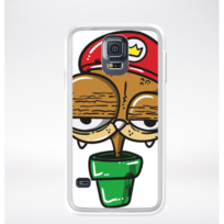 Samsung - Coque mario fun compatible galaxy s5 transparent