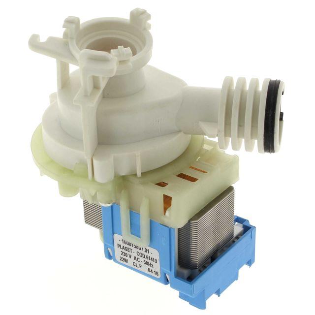 Frigistar Pompe de vidange 61413 pour Lave-vaisselle Bauknecht, Lave-vaisselle Ariston, Lave-vaisselle Indesit, Lave-vaisselle Sch