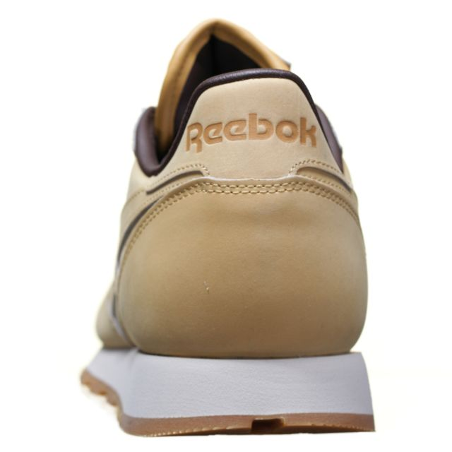 Reebok Chaussure Cl Leather Wp M49995 Caramel pas cher