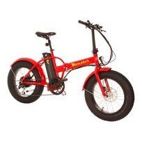 Tucano - Vélo électrique pliable Monster 20 rouge